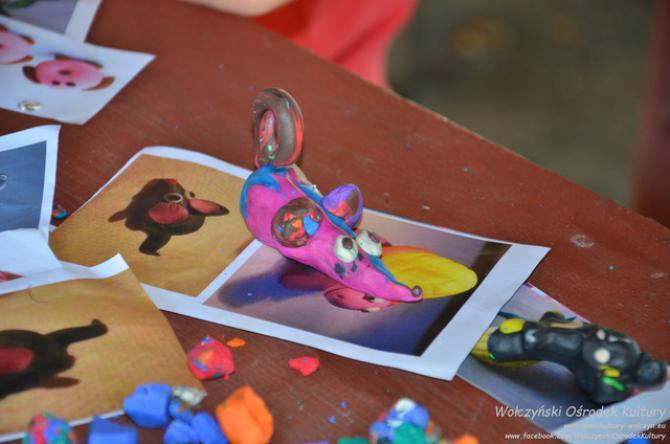 Galeria zabawy z modeliną Szymonków