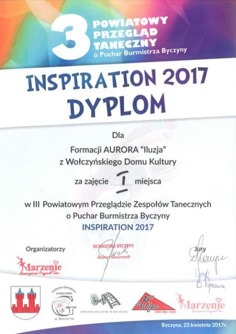 Galeria Inspiration 2017