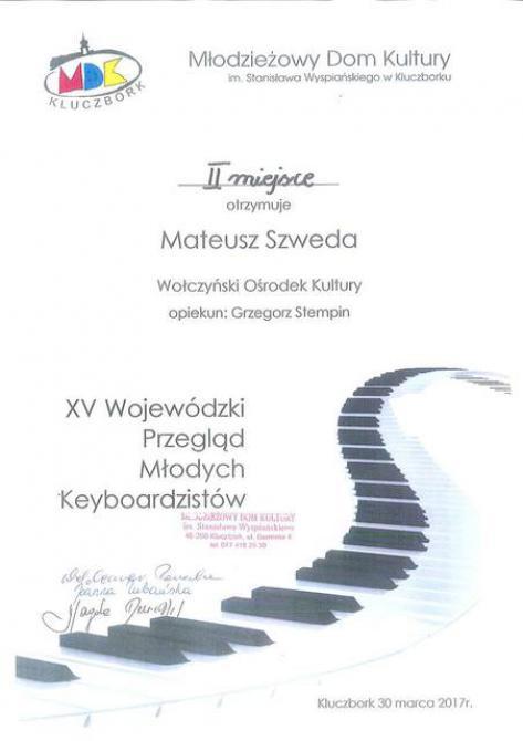 Galeria keyboard Kluczbork