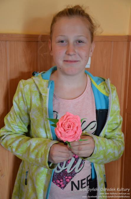 Galeria kwiaty z krepiny komorzno
