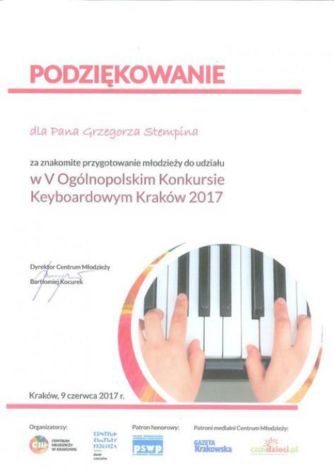 Galeria Keyboard Kraków 2017