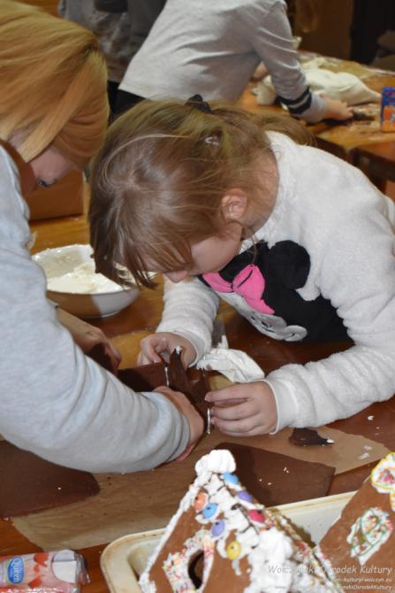 Galeria Warsztaty cukiernicze - piernikowe chatki
