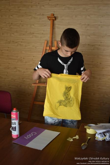 Galeria Transfer na tkaninę Wołczyn