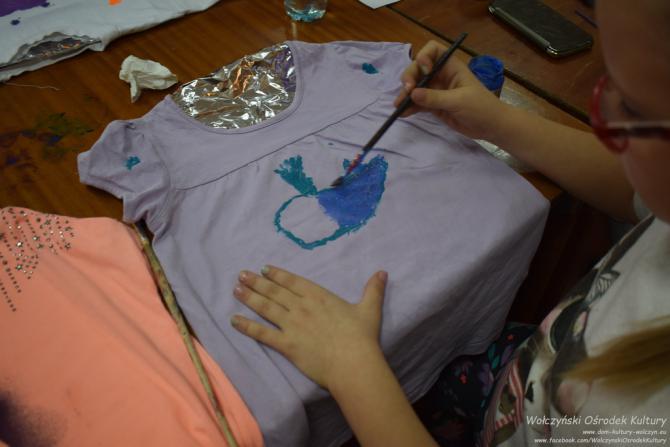Galeria ferie 2019 - pomaluj sobie koszulkę