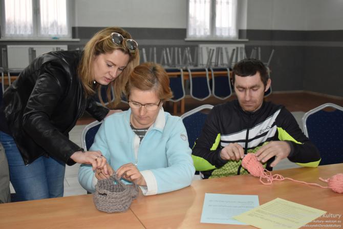 """Galeria Warsztaty szydełkowania - """"koszyki na skarby"""""""