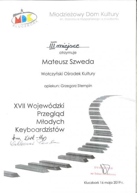 Galeria XVII Wojewódzki Przegląd Młodych Keybordzistów