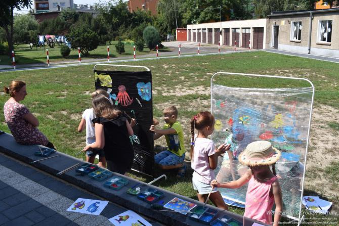 Galeria Zajęcia plastyczne - podwodny świat