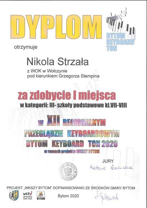 Galeria Bytom Keyboard Ton