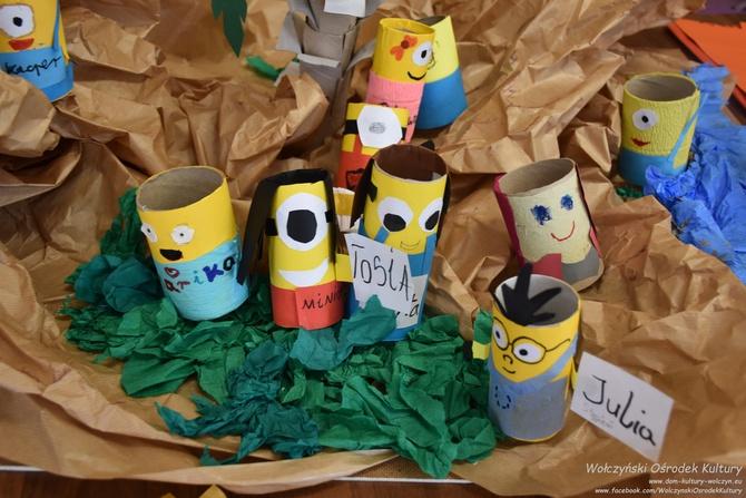Galeria zajęcia plastyczne - koloROLKI