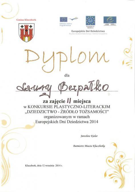 Galeria dyplomy